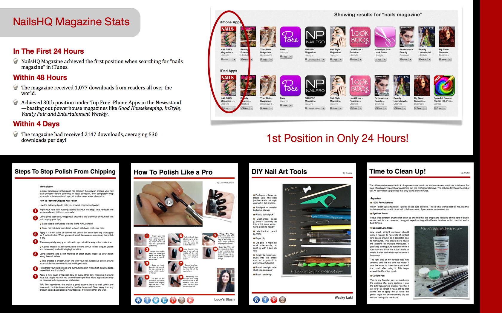 Advertise With Us | Nails HQ Magazine